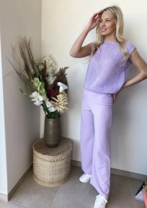 Andrea debardeur lila