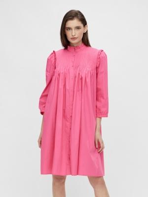 Robbia 3-4 dress fandango pink logo