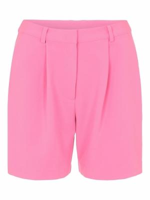 Dorothy shorts fuchsia pink. logo