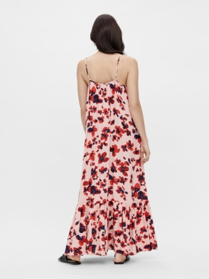 Bamelia strap ankle dress. Rose