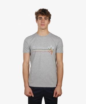 T-shirt Cardiogram logo