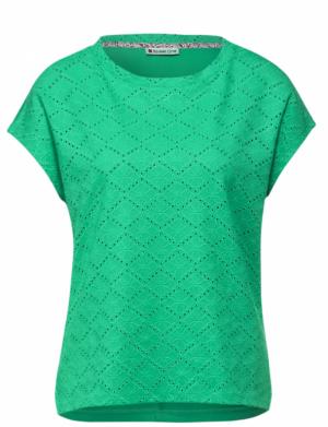 T-shirt lace mix logo