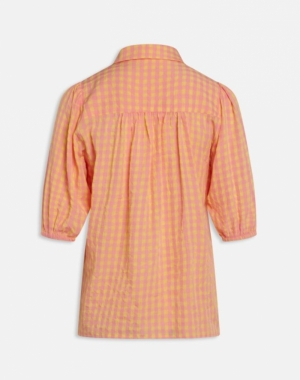 Vibby shirt banana/light pi