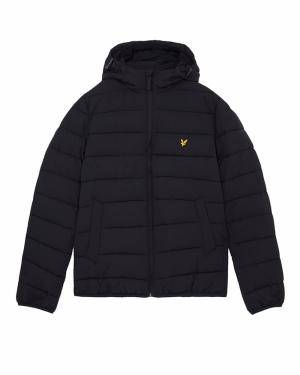 Puffer jacket logo
