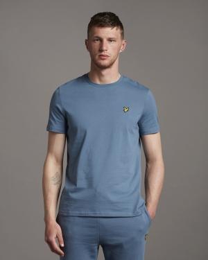 Plain t-shirt Slate blue