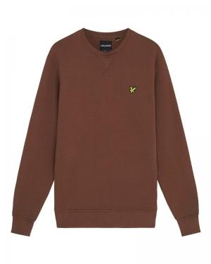 Crew neck sweatshirt logo