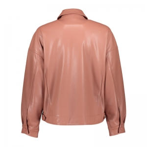 Jacket PU rhubarb