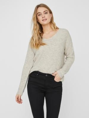 crewlefile v-neck blouse birch
