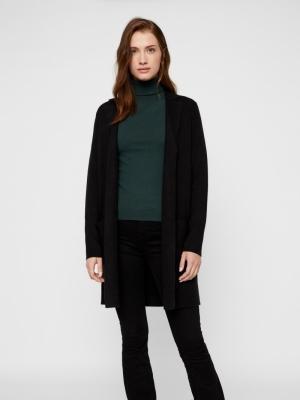 Tasty fullneedle new coatigan black