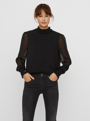 milla top black