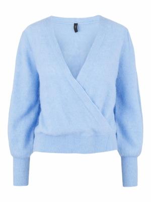 vista knit pullover vista blue