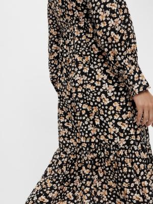 emalla long shirt dress black