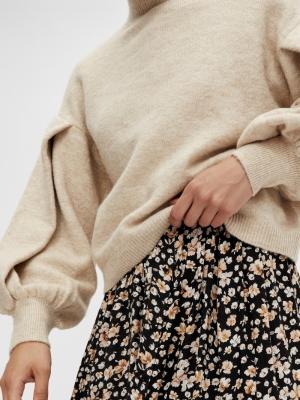 fino knit pullover sand dollar