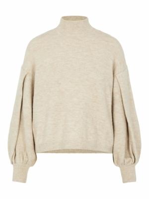 fino knit pullover logo