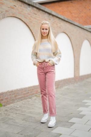 bobby-vintage corduroy old pink