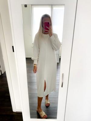 Aisha dress off white