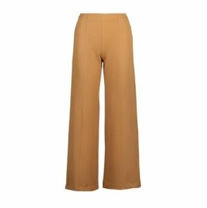 Leonie camel trousers logo