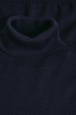 Parcusman wool mix Dark Navy
