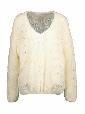 Ambre knit off white
