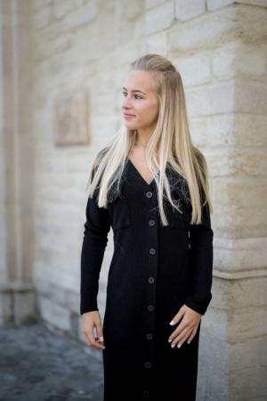 Lea dress black