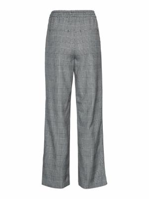 Evana straight pants grey