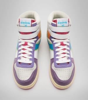 Magic Basket Lavender/white