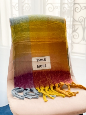Maxi bufanda smile more logo