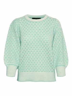 Jayda 3-4 o-neck blouse GA BOO logo